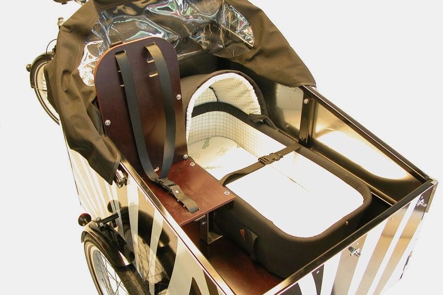 Configuration avec siège bois 1 places