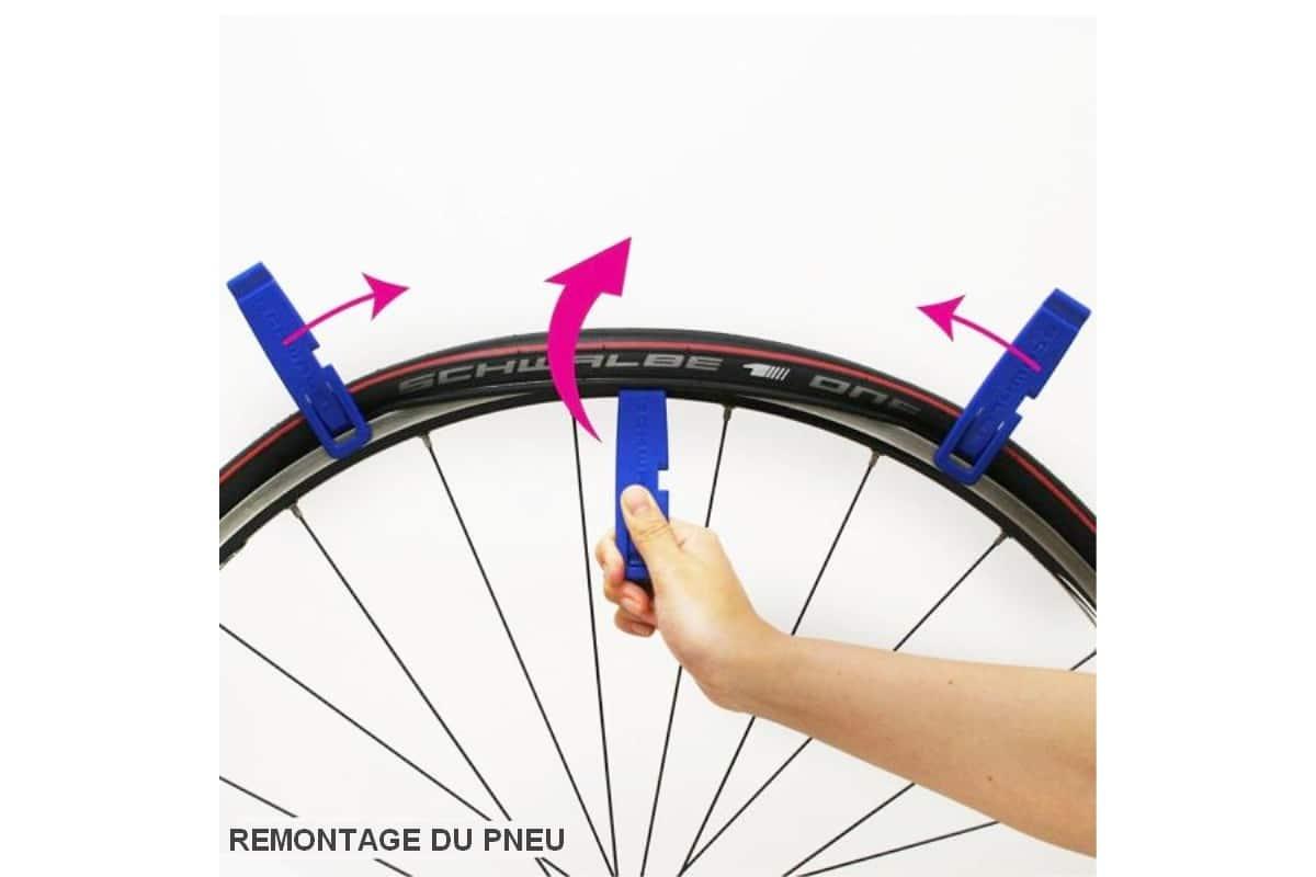 Démonte-pneus vélo Schwalbe 3 pièces