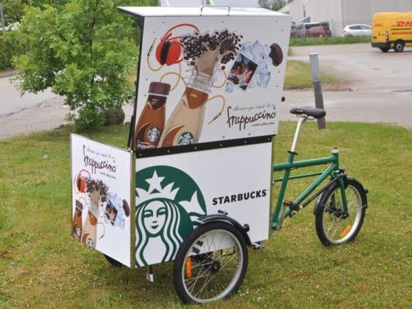 Bellabike Cargo Box -Starbucks-