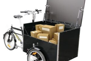 Bellabike Cargo Box chargé