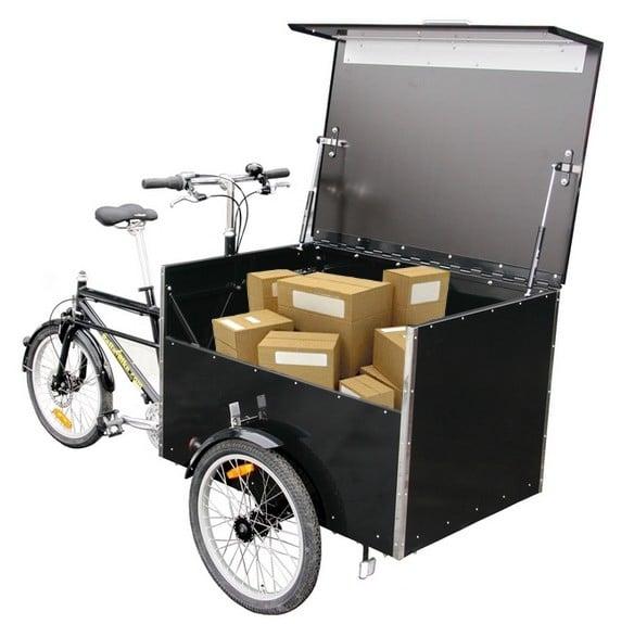 Bellabike Cargo Box chargé