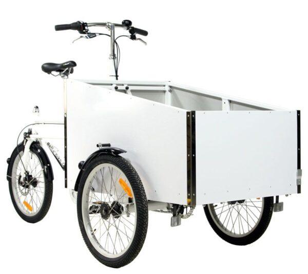 triporteur de livraison BellaBike Cargo blanc