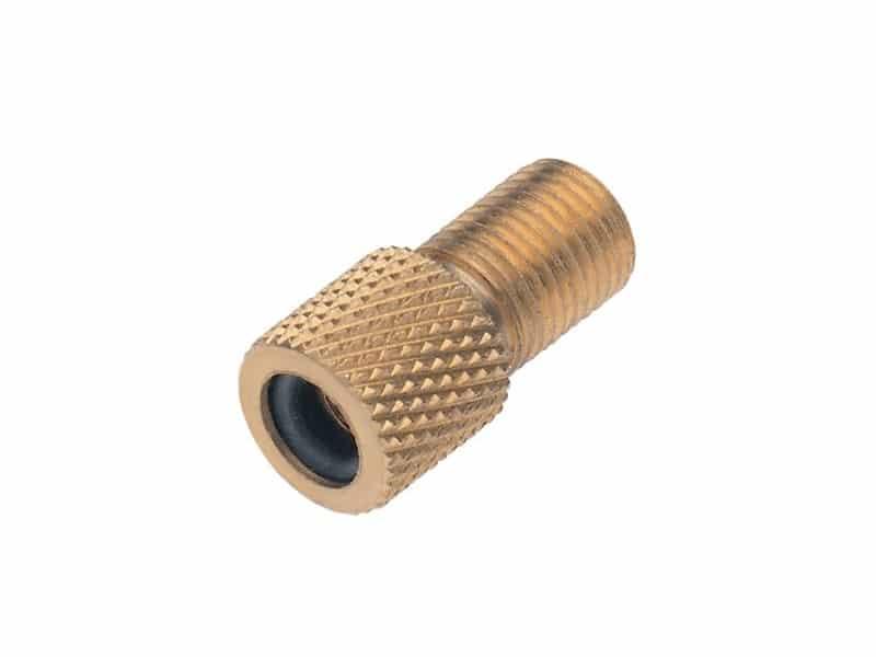 Adaptateur pour valve Dunlop / Hollandaise / Presta vers Schrader