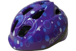 Casque junior Purple Dots