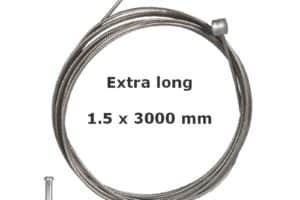 Câble de frein extra long + embout