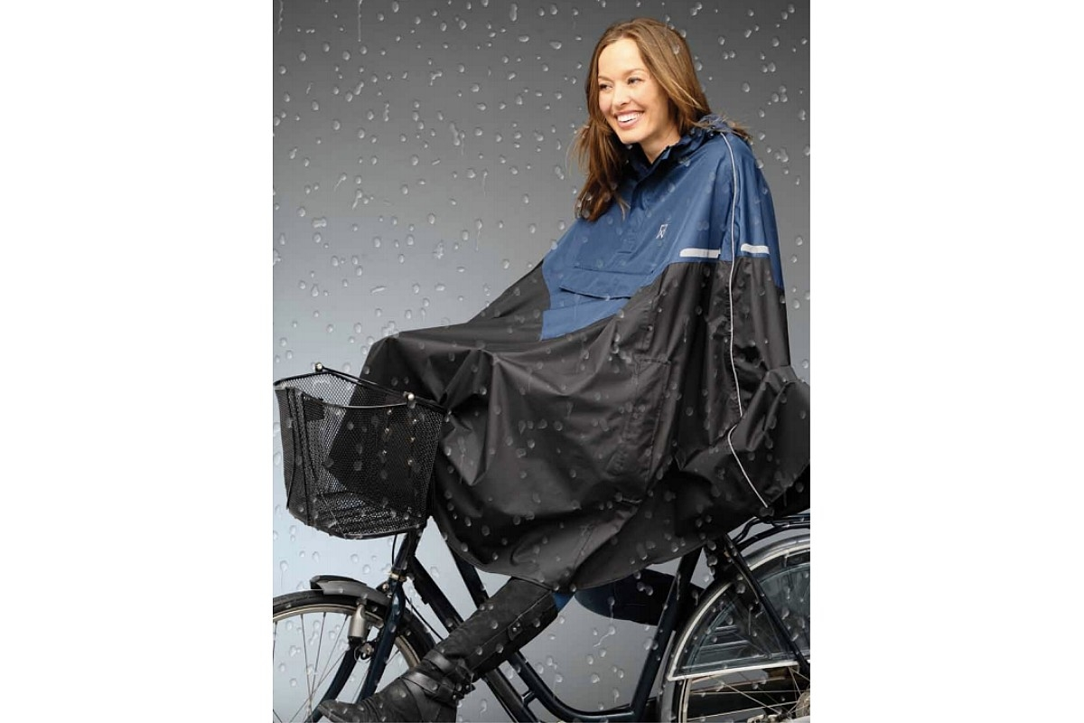 Poncho cape de pluie cycliste