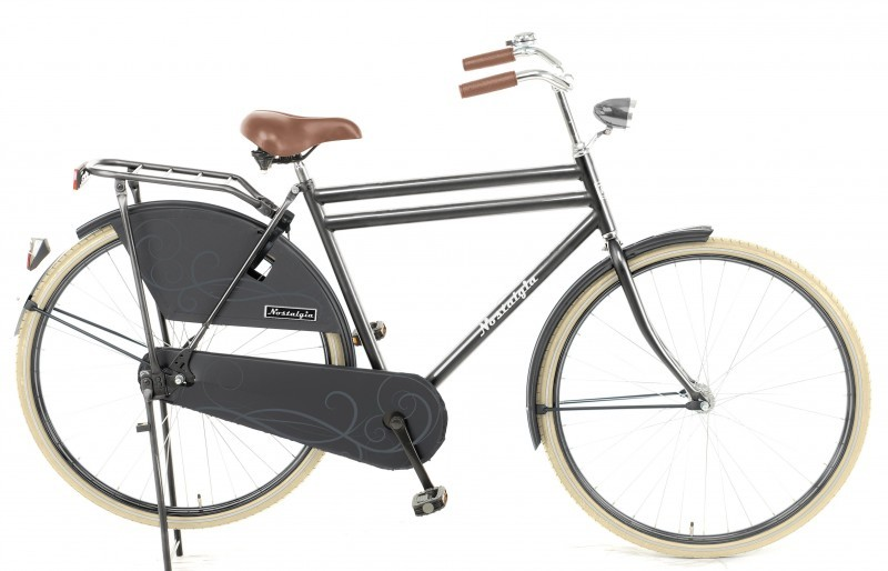 Pneu couleur crème pour vélo hollandais
