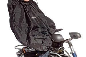 Cape de pluie pour siège enfant