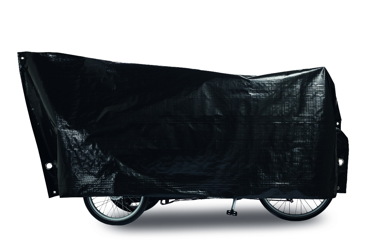 Housse-garage pour vélo cargo