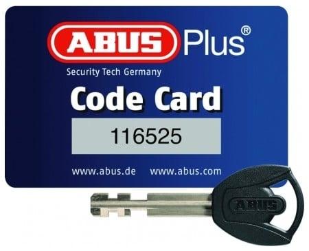 Code Card pour la reproduction des clés