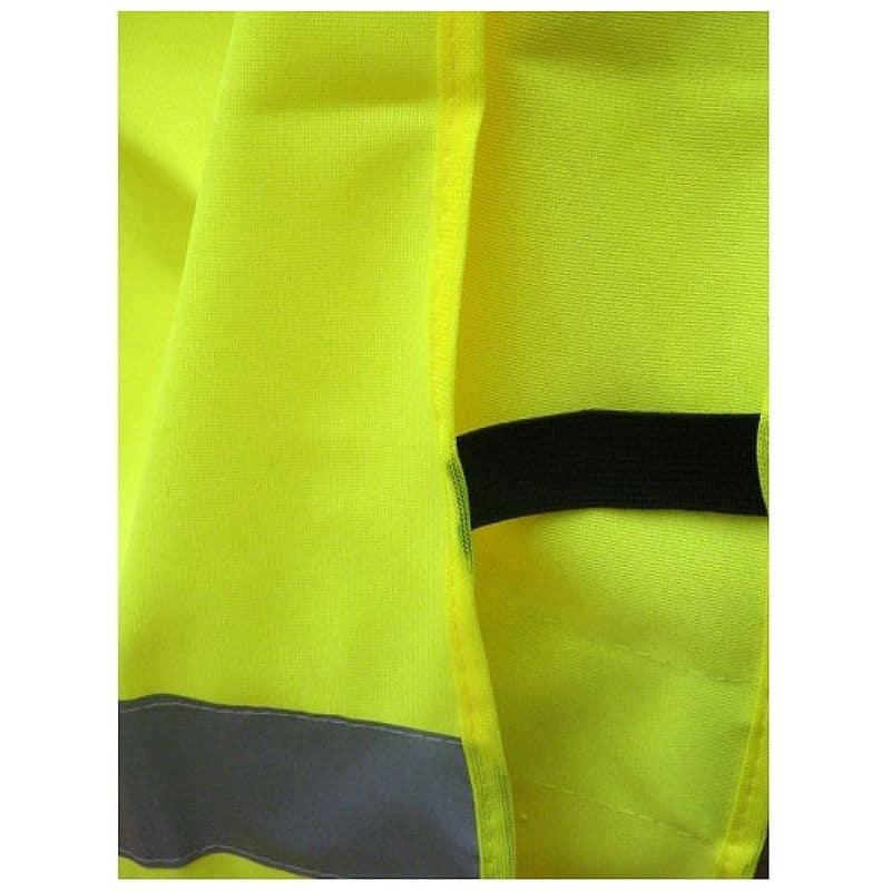 Gilet chasuble jaune fluo pour enfant