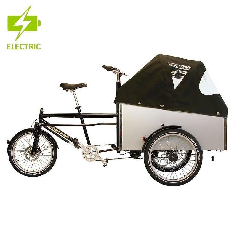 Triporteur électrique à moteur pédalier Bellabike 4 SX
