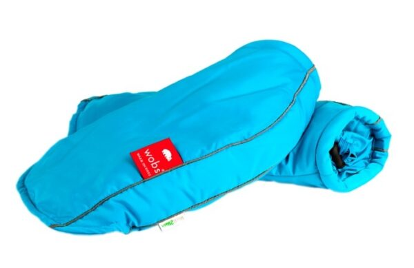 Moufles de guidon - Turquoise fluo