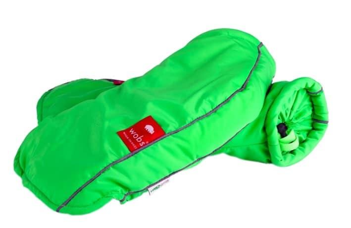 Moufles de guidon - Vert fluo