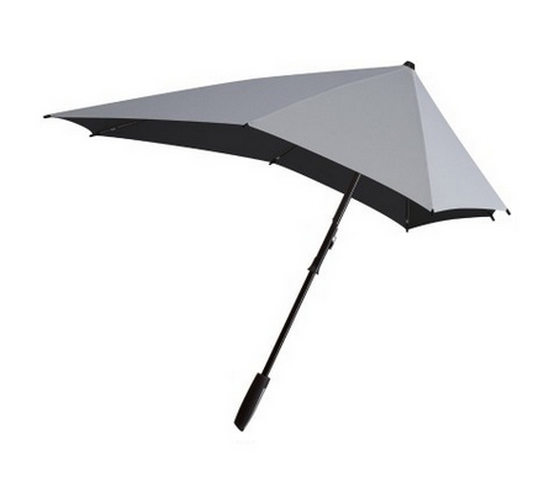 Parapluie tempête Senz Smart Shiny Silver