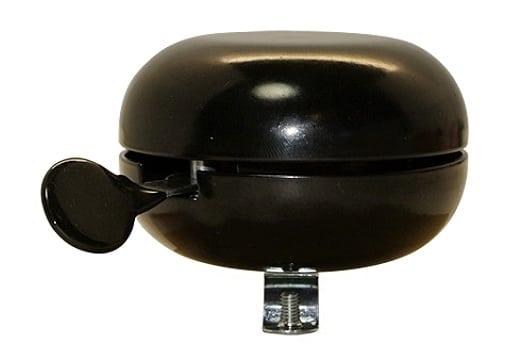 Sonnette Ding-Dong noire 80 mm