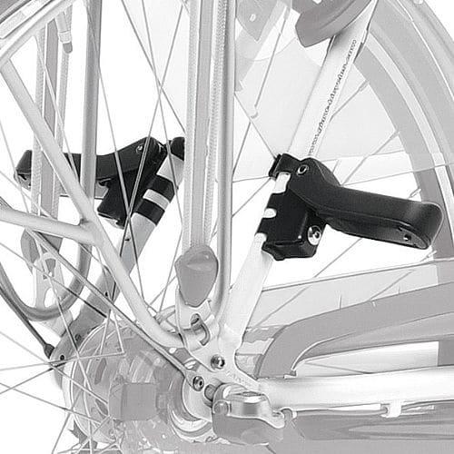 Repose-pieds passager universel pour vélo
