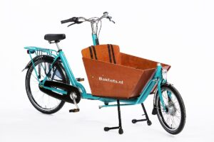 Biporteur court Bakfiets Classic turquoise