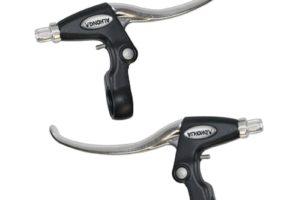 Paire de levier de frein confort pour V-brake, disque mécanique ou cantilever