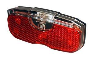 Feu rouge arrière Led pour porte-bagage avec répétiteur latéral