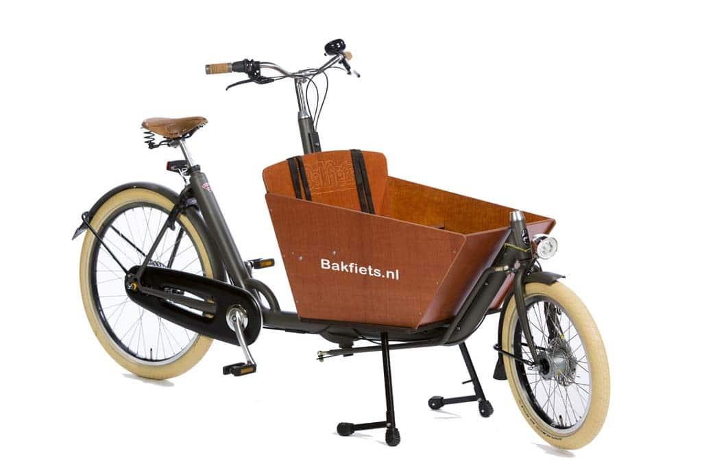 Biporteur court Bakfiets.nl finition Cruiser