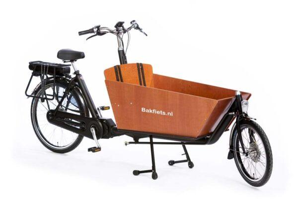 Biporteur électrique Bakfiets Classic avec moteur Shimano Steps