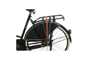 Élastique bicolore marron-noir pour porte-bagage