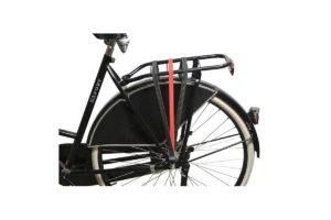 Élastique bicolore rouge-noir pour porte-bagage