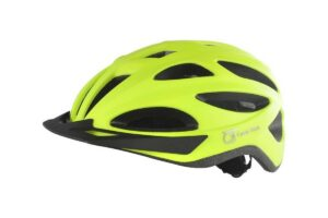 Casque QT Urban-LED jaune fluo