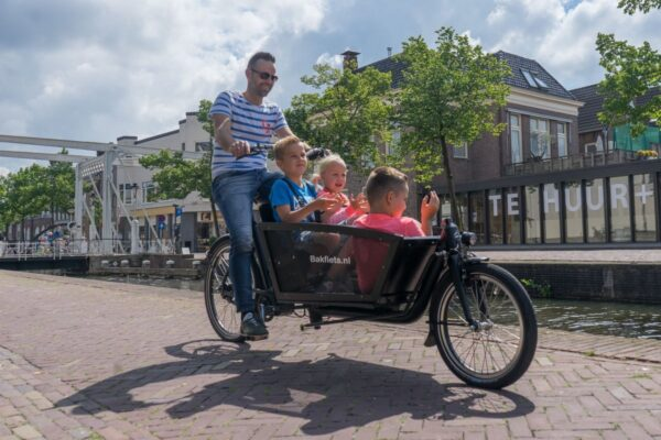 Biporteur Bakfiets Shadow Steps
