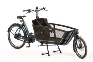 Biporteur Bakfiets Shadow Steps Bleu anthracite