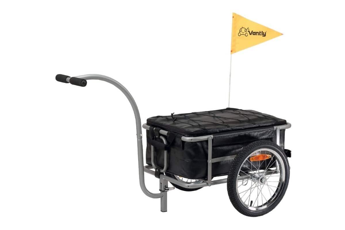 Remorque fermée multi-usage pour vélo