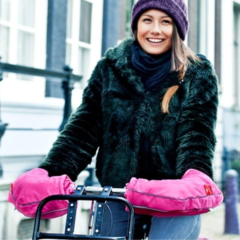 Moufles de guidon pour vélo enfant