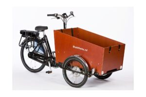Triporteur électrique Bakfiets Cargotrike Classic Wide Steps