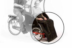 Protège jambes pour Bakfiets Rikja