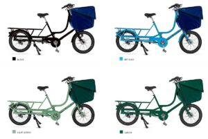 Bicicapace Justlong Steps : Couleurs secondaires