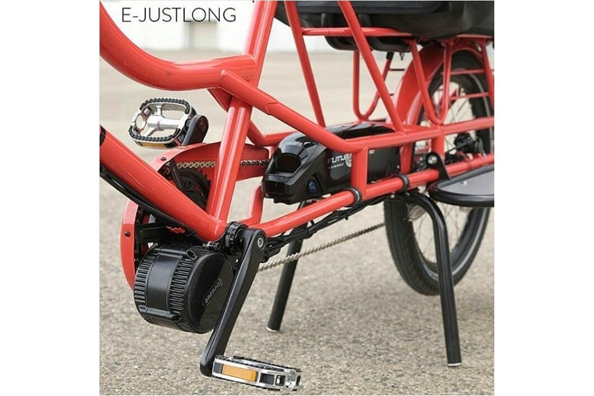 Bicicapace E-Justlong - Moteur et batterie