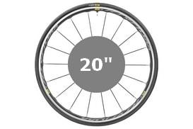 """Pneus & Chambres à air 20"""""""