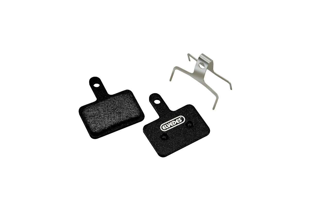 Plaquettes de frein Elvedes Carbon pour Shimano / Tektro