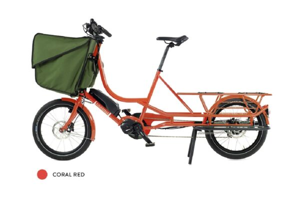 Bicicapace Justlong Steps rouge corail