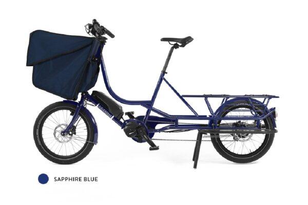 Bicicapace Justlong Steps bleu saphire