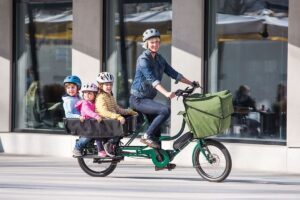 Bicicapace Justlong Steps avec option Child Pack