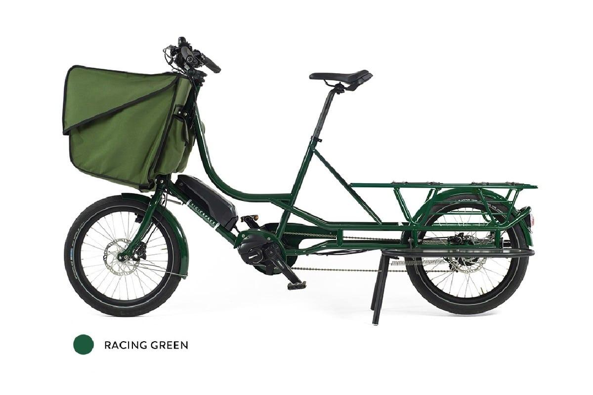 Bicicapace Justlong Steps vert Racing