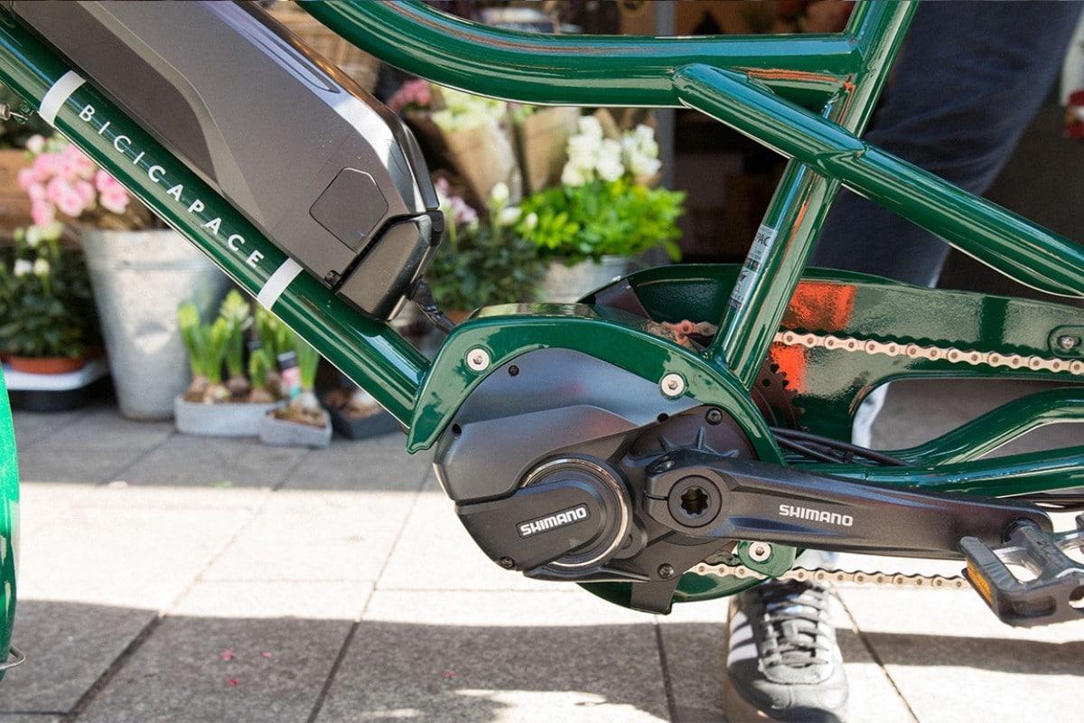 Bicicapace Justlong STePS PRO 8000 - Moteur