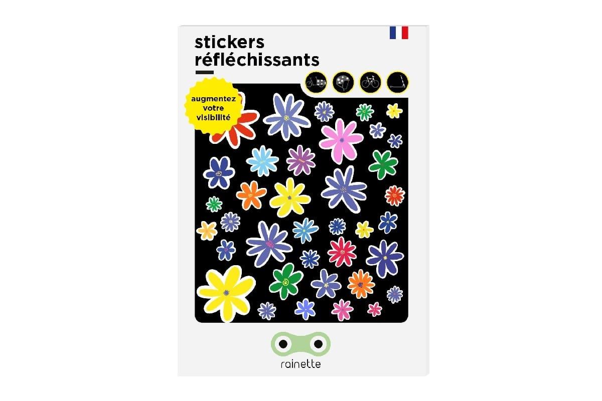Stickers réfléchissants Fleurs