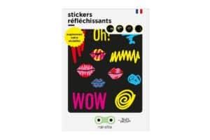 Stickers réfléchissants Kiss
