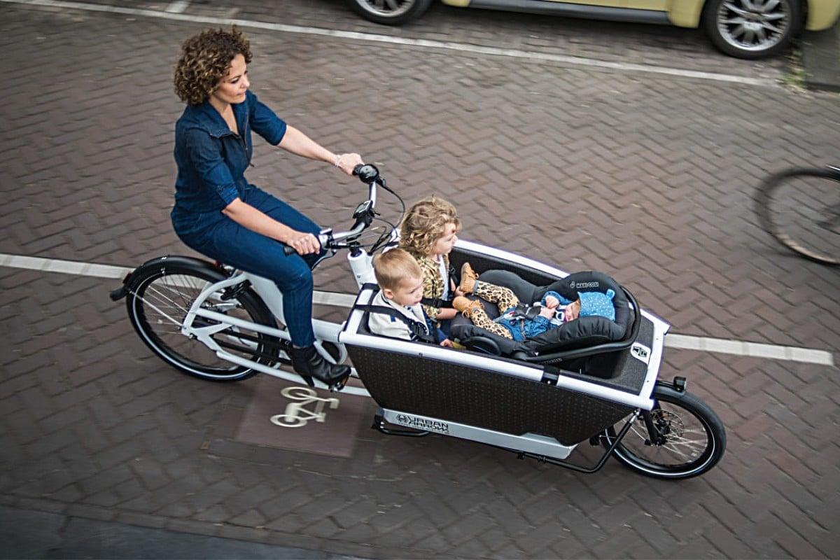 Biporteur électrique Urban Arrow Family