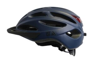 Casque QT Urban-LED bleu mat