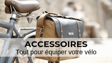 Accessoires, tout pour équiper votre vélo